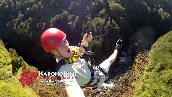 30 Second TV Commercial – KapohoKine Adventures